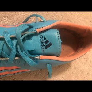 Women's adidas soccer cleat
